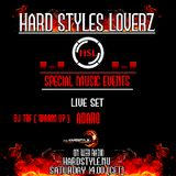 Warm Up: Dj Tof - Special Guest: Adaro - Hard Styles Loverz - Hardstyle.nu - Saturday 28 April 2012