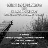 Acoustic Resource @ Sonus.FM Initiation meets 5 Years Diametral Records