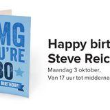 Happy Birthday Steve Reich 03 10 2016 Part 2