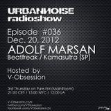 V-OBSESSION - URBANNOISE 036 Pt2 [Dec.20,2012] on Pure.FM