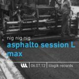 Nig Nig Nig - Asphalto Session L Max - 060712