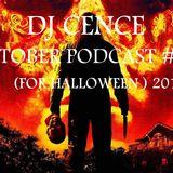 DJ CENCE OCTOBER PODCAST #53 (FOR HALLOWEEN ) 2015