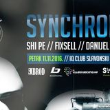 Danijel Žajdlik Live@ IQ club UNDERGROUND Pres. Synchronicity 11.11.2016