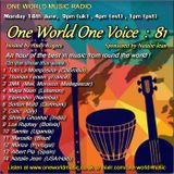 One World One Voice 81