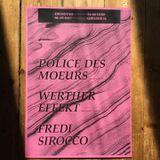 live performance @ Police des Moeurs [CAN] + Werther Effekt [LE] - G16,Leipzig - 04/07/2017