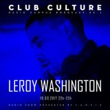 Emission Club Culture // 10-03-2017 // Special Guest : Leroy Washington