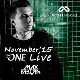 Max Fabian - November '15 PDJTV ONE Live