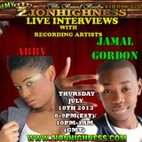 ABBY LIVE INTERVIEW WITH DJ JAMM ON ZIONHIGHNESS RADIO 07-18-2013
