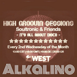 High Groovin Sessions April 2016 Special Guest ALKALINO