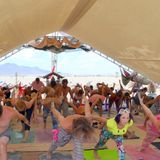 Burning Man 2016 Camp Walter Mellifluous Yoga Class with Kate Swarm