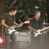 John Mayer with Eric Clapton 2007-07-20 Bryant Park, New York