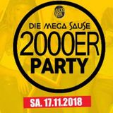 Die Mega Sause 2000er Party at Club Huckebein,  17 Nov 2018