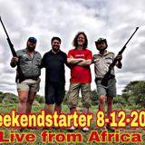 Weekendstarter 08.12.2017 (Live South Africa)