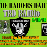 TRD RAIDio: 2/17/18, Raiders say Goodbye Janikowski, plus a lot more!