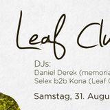 Daniel Derek live@LeafClub Summer Closing_Postgarage_Graz (A) 31.8.2013