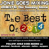 JGM376: The Sunday Show 13th July 2014 Distinct FM