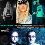 Kraemer & Niereich Live Culteum Karlsruhe first hour / construct rhythm podcast / special episode