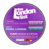 The London List Radio show monday 7th January 2013