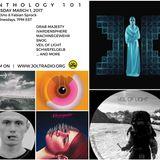 SYNTHOLOGY 101 March 2017 Edition hosted by DJ DINO & Fabian Sprock on JOLT RADIO