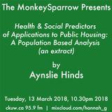 Health & social predictors: applications to public housing (an extract) - Aynslie Hinds
