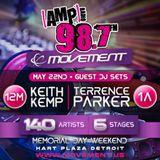 Deep House DJ mix for 98.7 AMP Radio (Detroit, MI) May 2015
