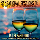 Sensational Sessions 16 - January 2016 - Live on Aegean Lounge Radio