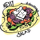 tsourkoko- messy salad