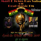 Mix n Blend with Artist 'MARL_E hosted by Ras Saba