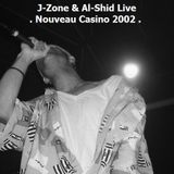 J-Zone & Al-Shid live at Nouveau Casino, 04/26/2002