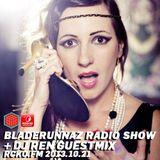 Bladerunnaz Radio Show w/ DJ REN + Mentalien @ RCKO.FM 2013.10.21