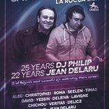 dj's Christophe & Seelen @ La Rocca - 25Y dj Philip & 22Y dj Jean Delaru 22-02-2014