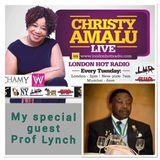 Christy Amalu on London Hott Radio 080817