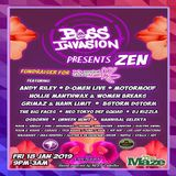 D-Omen (Live PA) @ Bass Invasion - The Maze Nottingham - 18.01.2019