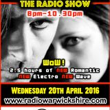 RW071 - THE JOHNNY NORMAL RADIO SHOW - 20TH APRIL 2016 - RADIO WARWICKSHIRE