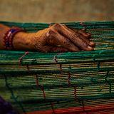 Registro fotográfico de las manos y la tierra con Pablo Buelvas
