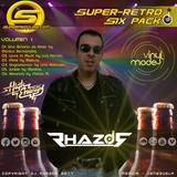 DJ Rhazor © - Six Pack - Super Retro (Volumen 01) for SuperMezclas.com