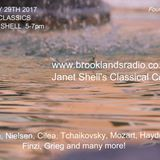 COOL CLASSICS with JANET SHELL first broadcast 29th January 2017