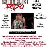 The ROXX Show at Hard Rock Hell Radio 18 Jan Flush The Fashion, Criminal Action, The Rocket Dolls