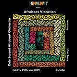 Irfan Rainy Mcr Live Afrobeat / African dance music show Monday 21st Jan 2019