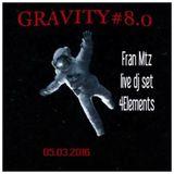 Gravity#8.0 _ Fran Mtz Live dj set 4 Elements_Paris_fr