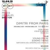 Dimitri From Paris - Live @ Slide Prince Of Wales, Brixton 12-09-15