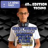 Joan Barrera DJ - Crazy Sounds Radio Show 40 @LaSeniaRadio