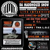 Da Maddhouze sits down with AK on the Beat and C.I. on KPOO 89.5 FM