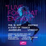 Orjan Nilsen @ A State Of Trance 800 Festival (Utrecht) - 18.02.2017