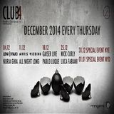 Nuria Ghia  -  Live At Club4 (Barcelona)  - 5-Dec-2014