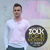 April 2017, Brazilian Zouk Top 10, DJ Quince