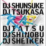 READY  DJ TATSU、DJ SHINOBU& DJ SHEIKER