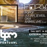 Julian Jeweil - live at Form Music (BPM Portugal 2017) - 14-sep-2017