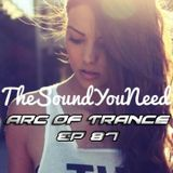 ARC OF TRANCE EP 87