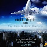 Semih Karakas - Night Flight 005 Guest DJ By.Enes Karakas on PURE.FM [November 11' B2B Set]